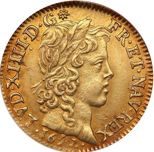 ルイ14世 ルイドール金貨