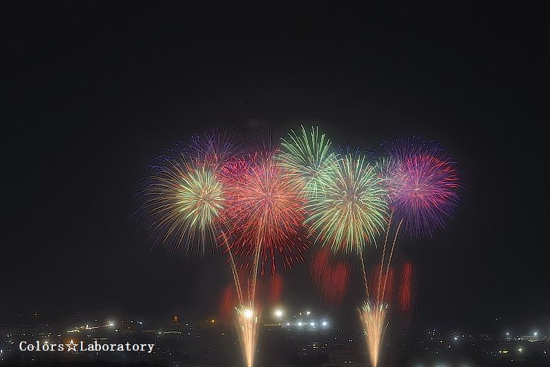 2015 8月10日 薄川花火 2a