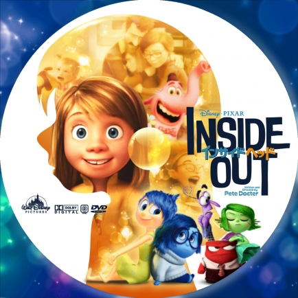 INSIDE OUT DVD LABEL
