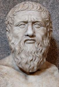 プラトン彫像