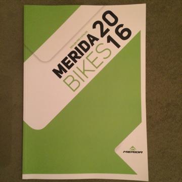 MERIDA 2016 カタログ