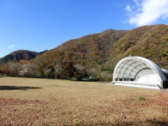 紅葉の鬼怒川公園