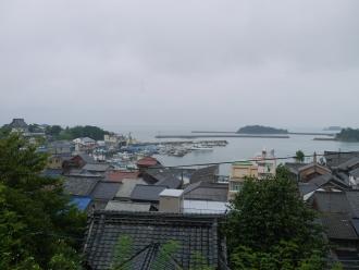 歴史民俗資料館から望む鞆の浦(1)