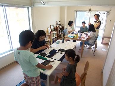 奈昌教室オープンルーム・奈昌さんのレクチャー
