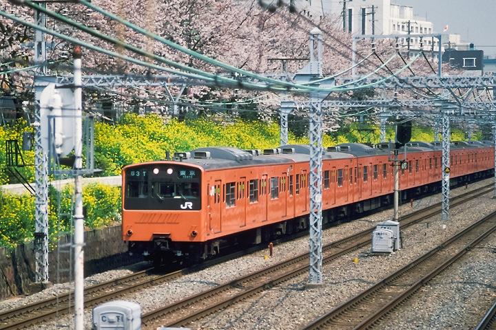 s62東中野_中央線快速201系_001