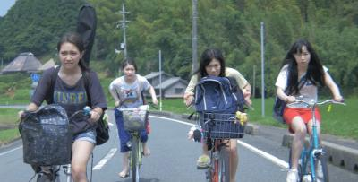 『私たちのハァハァ』 ライヴのために東京まで自転車で!