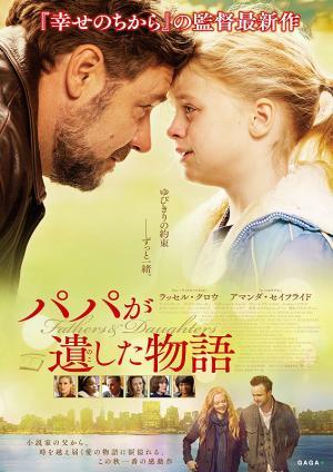 ガブリエレ・ムッチーノ 『パパが遺した物語』 ラッセル・クロウと子役のカイリー・ロジャーズ。