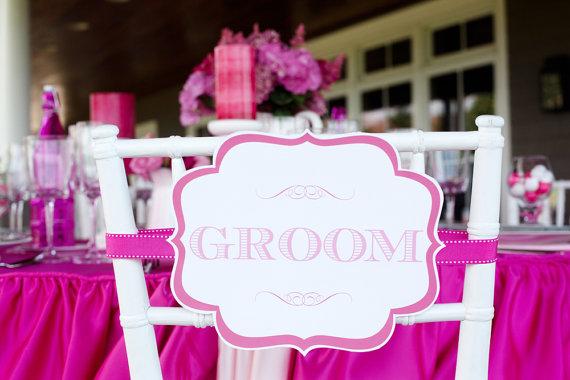 BrideGroomサイン_椅子_ダウンロード素材無料