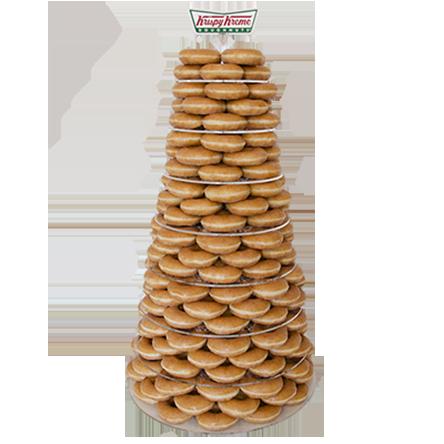 クリスピークリームドーナツ_ウェディングケーキ
