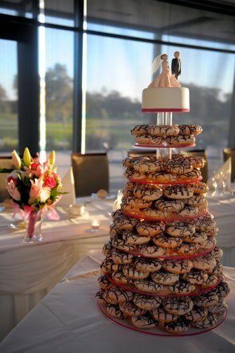クリスピークリームドーナツ_結婚式_ケーキトッパー