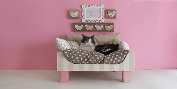 猫ベッド_etsy_通販_ピンク