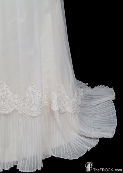 ヴァレンティノ_ヴィンテージウェディングドレス_チュール