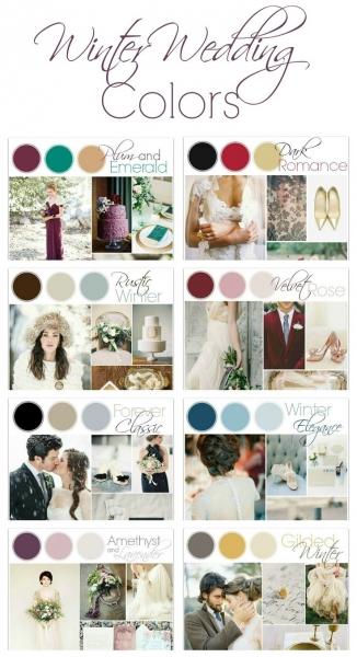 冬の結婚式_カラーアイデア