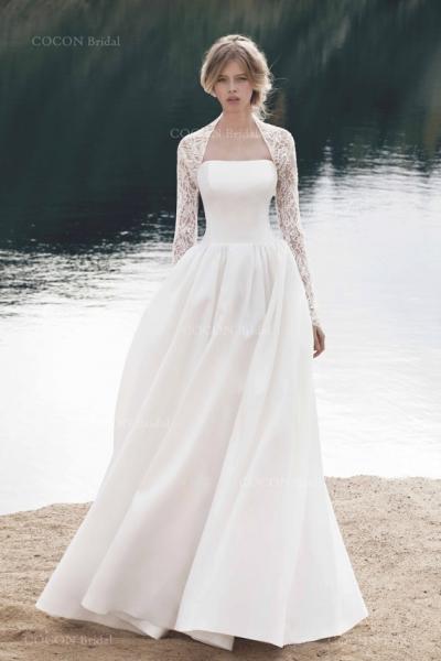 冬のウェディングドレス