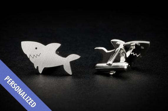 オーダーメイドカフス_サメ