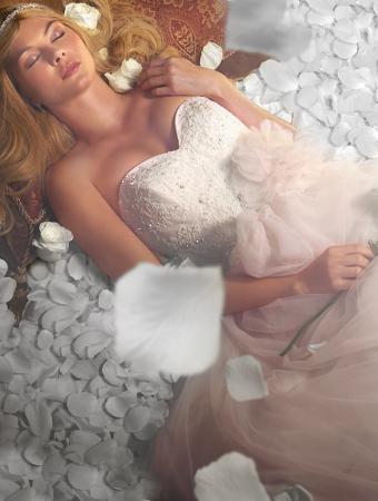 眠れる森の美女_オーロラ姫ウェディングドレス_AlfredAngelo(アルフレッドアンジェロ)