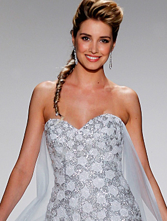 アナと雪の女王_エルサウェディングドレス_AlfredAngelo(アルフレッドアンジェロ)