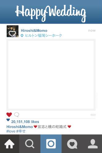 日本語instagramサンプル