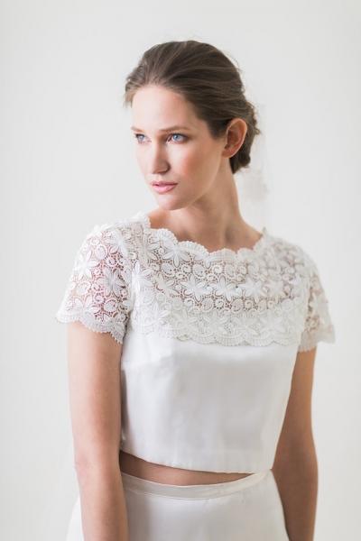 セパレートウェディングドレス