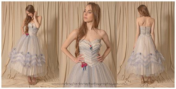 ヴィンテージブライズメイドドレス