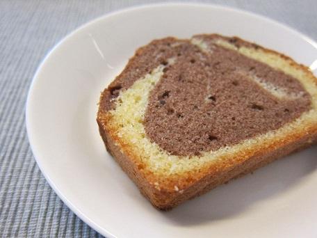 マーブルじゃないマーブルケーキ