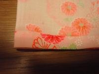 裾のぐし縫い
