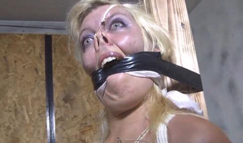 洋物 ハード股縄責めに裂かれてくいこむ秘唇に女の性を見た!30