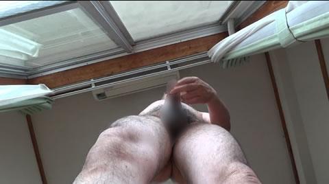 アダルト動画:老人自慰 勃起 射精