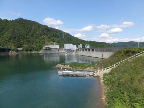 宮ヶ瀬ダムと宮ヶ瀬湖