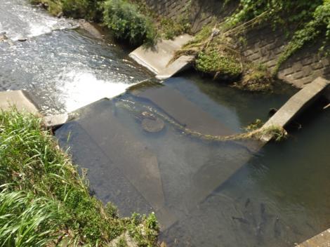 和泉第二揚水施設・川底取水堰