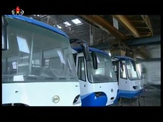 Pyongyang trolley buslv_000289325