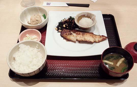 20150910 大戸屋 沖目鯛定食 880円 19㎝ 12310001