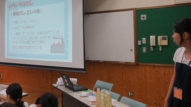7月16日上高野小学校でも食育活動開始!