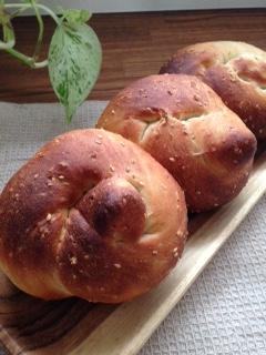 豆乳ごまパン①の③