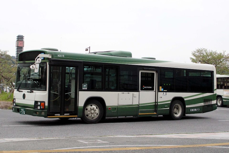 京都京阪バス か576