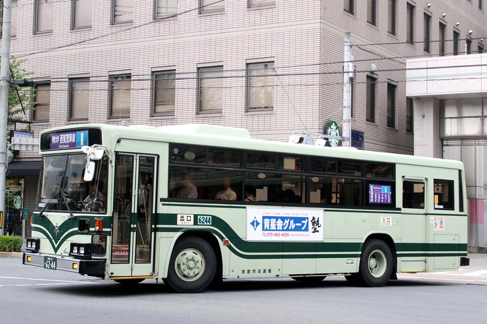 京都市交通局 か6244
