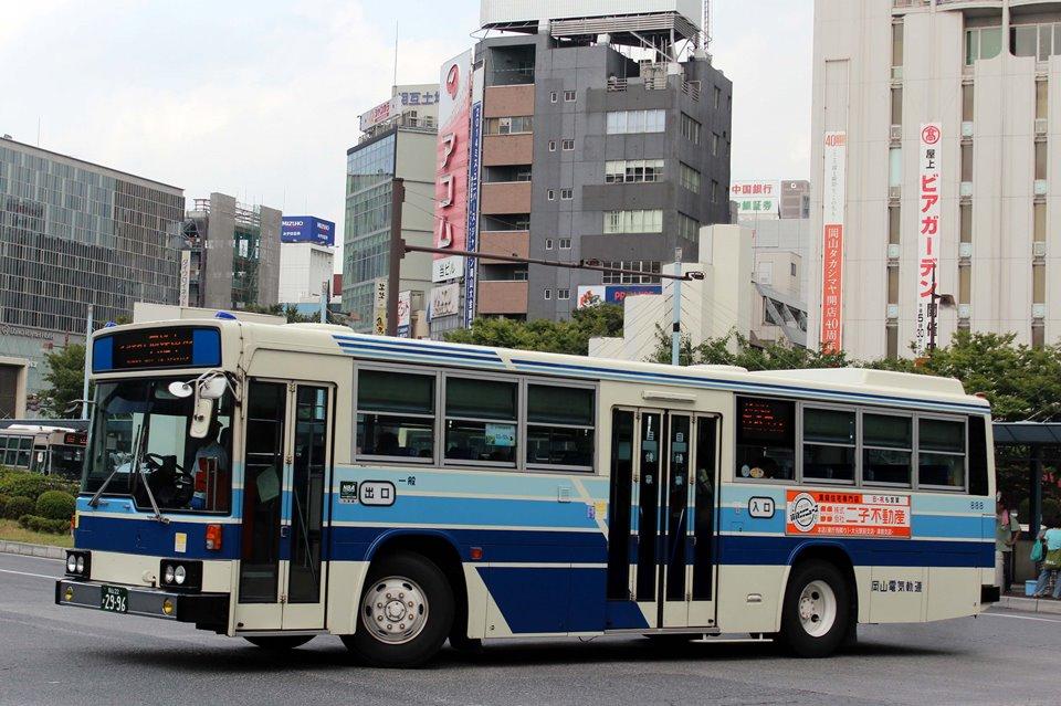 岡山電気軌道 888