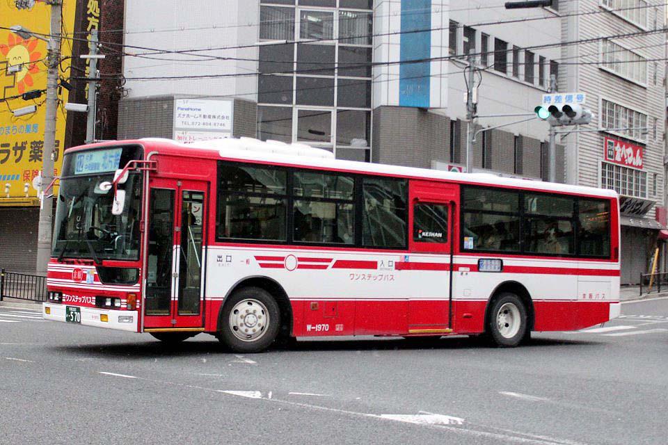 京阪バス W-1970