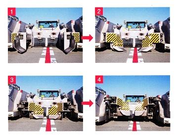 トーバーレス・トーイング・トラクターの動作機構