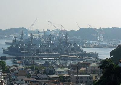 最前線、ここは横須賀