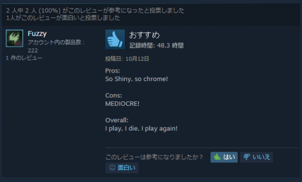 steam review