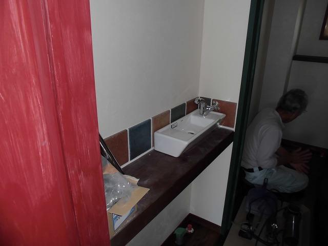 トイレ手洗い2
