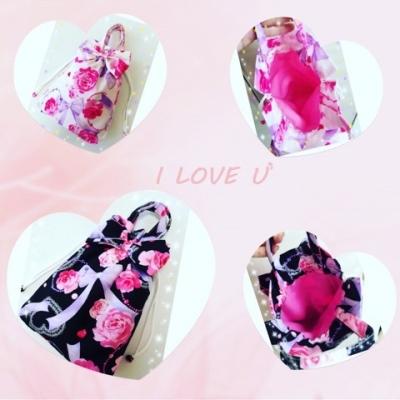 桜 美月プロデュースバラとリボン巾着