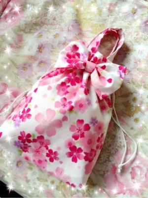 桜 美月プロデュースリボン巾着