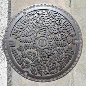 倉敷マンホール蓋blog01