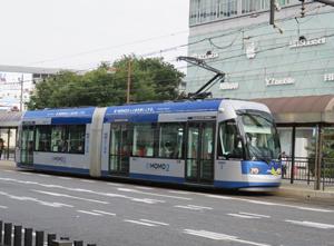 岡山市23日路面電車blog02