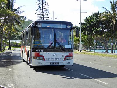 ヌメアの路線バス