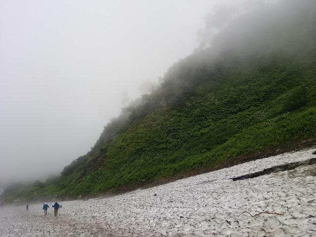 雪渓景色2