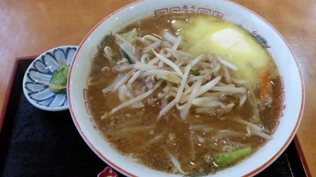 9.13味噌バターラーメン
