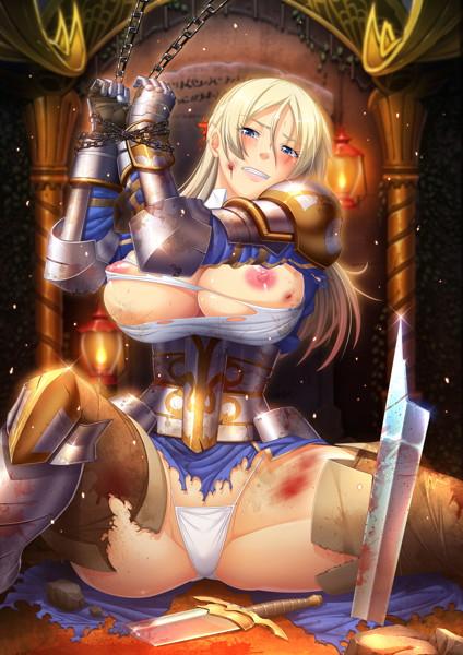【エロアニメ】恥辱の女騎士~私のアソコはお前何かのチンポは受け入れない~【アダルトアニメ】